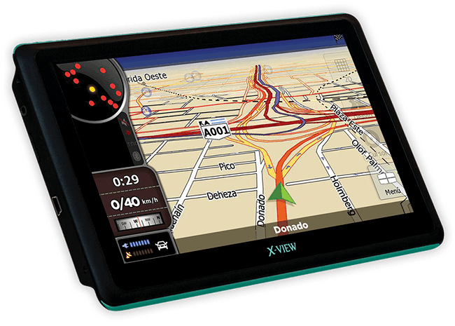 X-View | Mobile Location | Navigator 7 TV