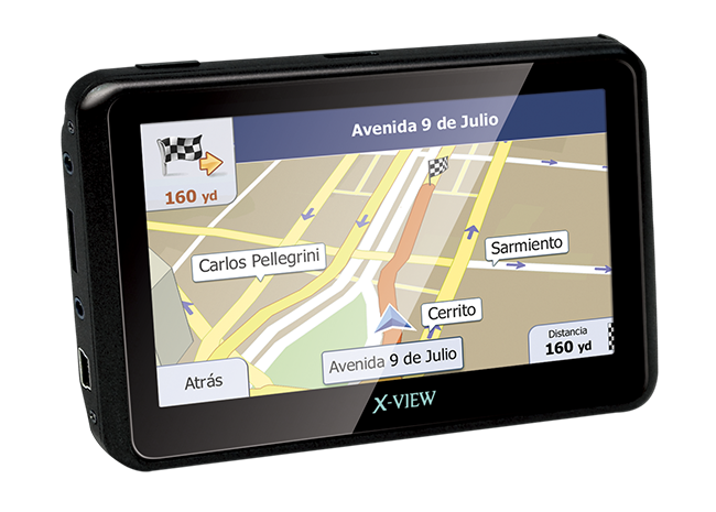 X-View | Mobile Location | Venture Go 4.3 Pulgadas