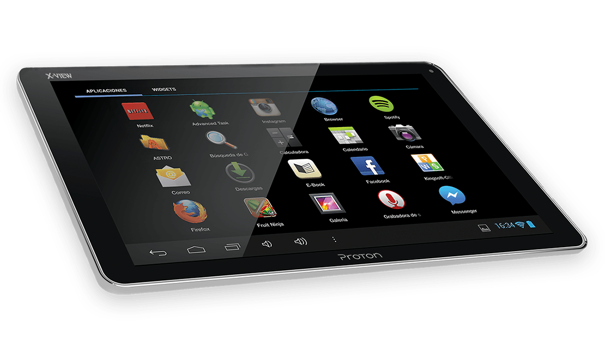X-View | Tablets | Android 5 | Proton Sapphire Colors