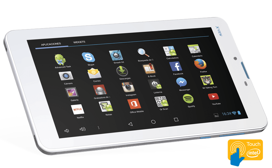 X-View | Tablets | Android 4.4 | Quantum Cobalt S+