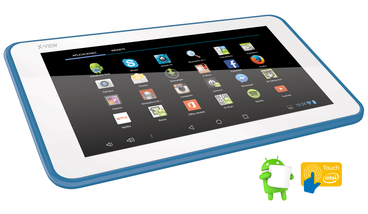 X-View | Tablets | Android 6 | Quantum Zero 16GB