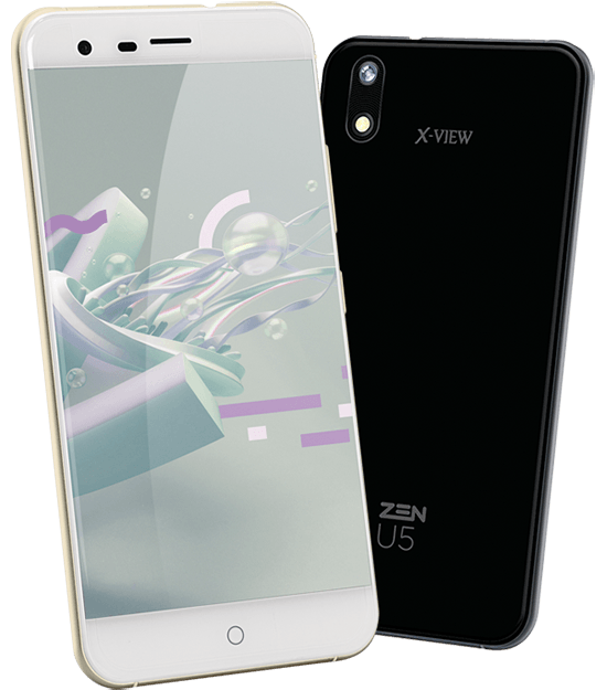 X-View | ZEN U5 - 2nd Gen Smartphone